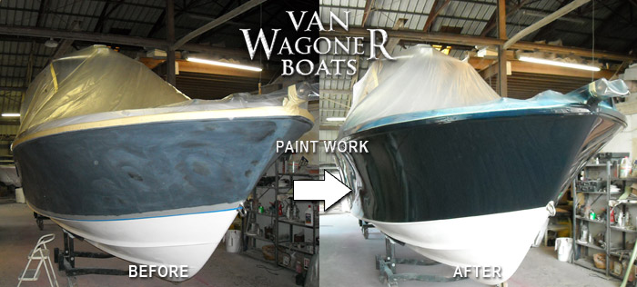 Cheap Boat Fiberglass Repair and Painting